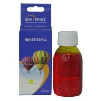 Cerneala galbena refill incarcare cartuse HP351 CB337EE HP-351XL CB338EE yellow - 100 ml
