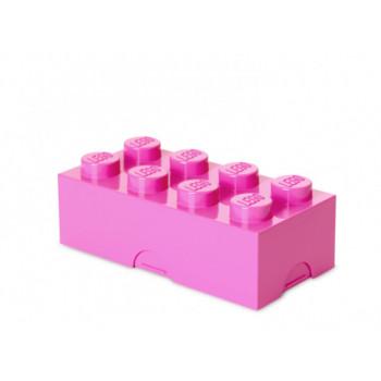 Cutie LEGO pentru sandwich roz