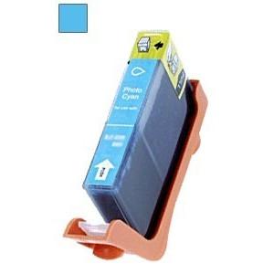 CARTUS compatibil CANON CLI-8-PC * CLI8 PHOTO CYAN  STANDARD rezerva foto albastru cu chip