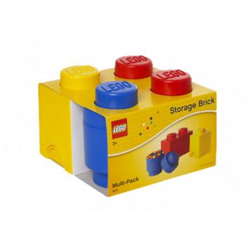 Pachet 3 cutii de depozitare LEGO