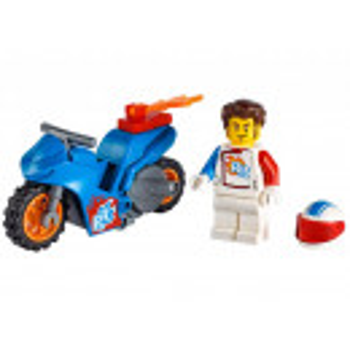Motocicleta de cascadorii cu racheta