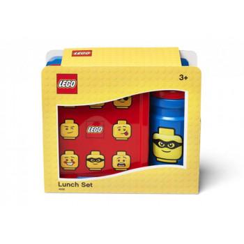 Set pentru pranz LEGO Classic albastru-rosu