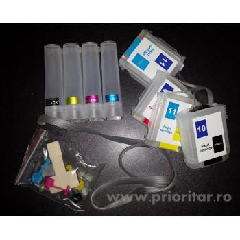 PROMOTIE: CISS HP-10 HP-11 ( HP10 negru HP11 rosu galben albastru )
