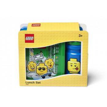 Set pentru pranz LEGO Iconic albastru-verde