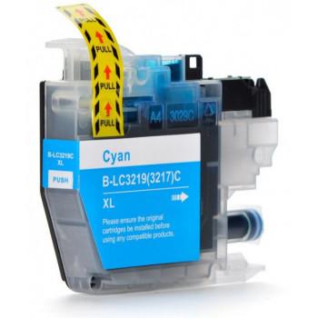 Cartus imprimanta albastru pt Brother LC3217 XL LC3219 XL LC 3217XL LC 3219XL CYAN