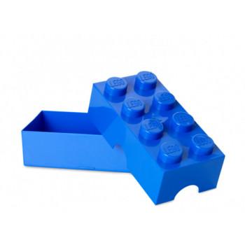 Cutie sandwich LEGO 2x4 albastru