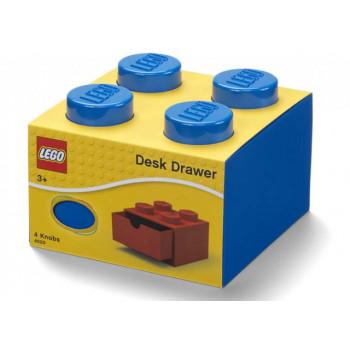 Sertar de birou LEGO 2x2 albastru