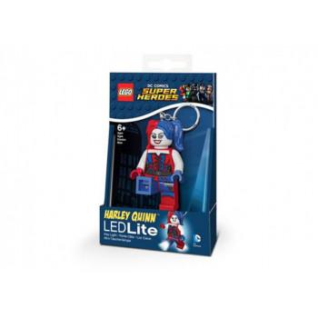 Breloc cu lanterna LEGO Harley Quinn (LGL-KE99)
