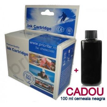 Cartus negru pt Canon PG512 PG 512 PG-512 compatibil imprimante iP2700 MP240 MP250 MP260 MP280 MP490 MX330 MX350 + 100 ML cernneala CADOU
