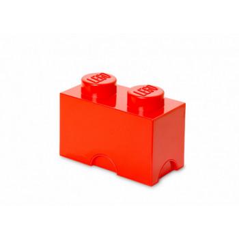 Cutie depozitare LEGO 2 rosu