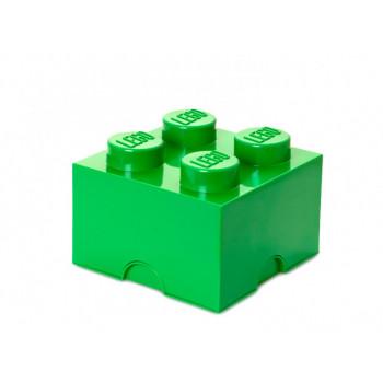 Cutie depozitare LEGO 4 verde inchis