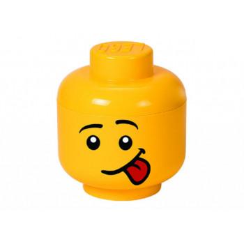 Cutie depozitare S cap minifigurina LEGO - Silly