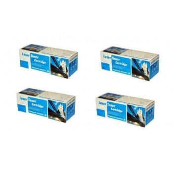 PACHET Cartuse laser compatibile HP CE-310-A-BK CE-311-A-C CE-312-A-Y CE-313-A-M ( CE310 CE311 CE312 CE313 )