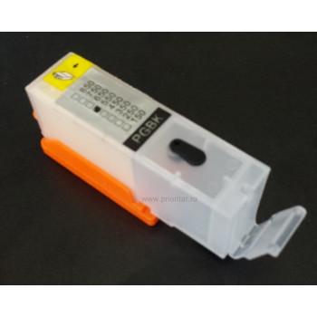 Cartus autoresetabil reincarcabil pentru CANON PGI-550 PGI550 negru