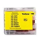 Cartus imprimanta pentru Brother LC1000 /LC970 / LC960 Yellow inkjet cerneala