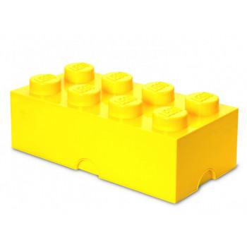 Cutie depozitare LEGO 8 galben