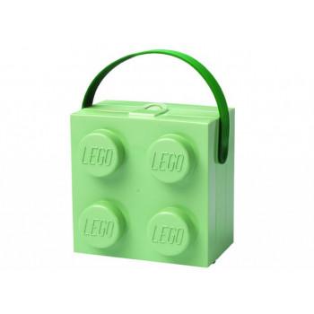 Cutie pentru sandwich 2x2 verde