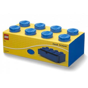 Sertar de birou LEGO 2x4 albastru