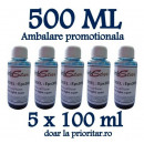 Cerneala EPSON DYE CISS color FOTO ALBASTRA ( Refill Photo Light-Cyan ) pe baza de apa - 500 ml