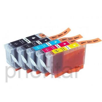 CARTUS compatibil color CANON CLI-8-C * CLI8C STANDARD rezerva albastra cu chip