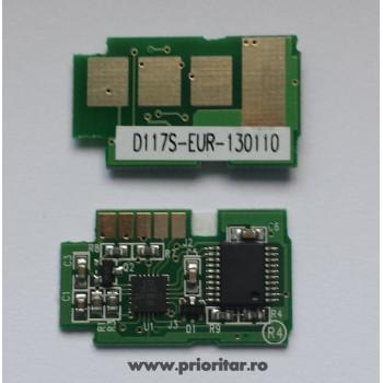 Cip Samsung MLT-D117S ( Chip Cartuse MLT D117-S ) MLT D117 SCX4650 SCX4655 Cartus laser 2.5k