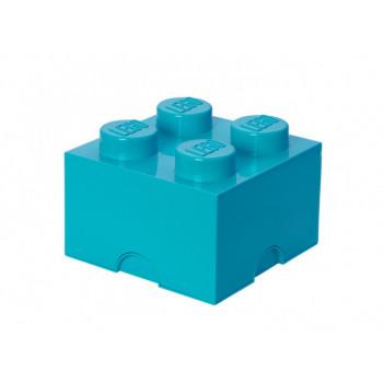 Cutie depozitare LEGO 4 turcoaz