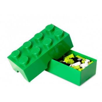 Cutie LEGO pentru sandwich verde inchis