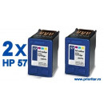 PACHET 2 BUC X Cartus Color HP57 HP-57 CC6657AE compatibil PROMOTIE !!