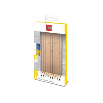 Set 9 creioane LEGO (51504)