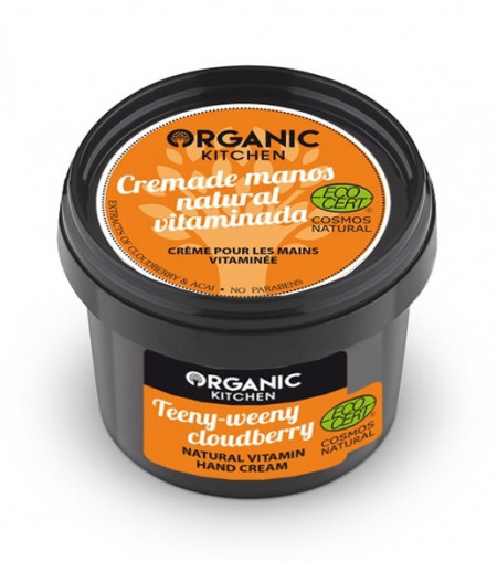 Crema de maini cu vitamine Teeny-weeny Cloudberry - Organic Kitchen