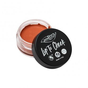 Ruj si fard obraz Carrot Lip to Cheek 01 - PuroBio