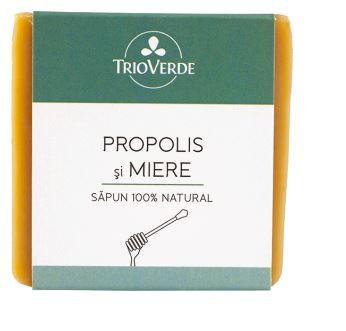 Săpun cu propolis și miere Trio Verde