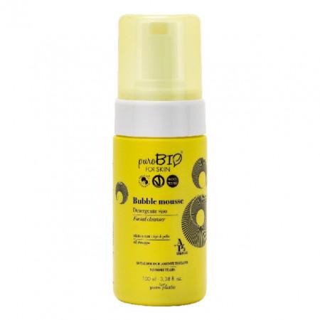 Spuma curatare toate tipurile de ten, 100ml - PuroBio