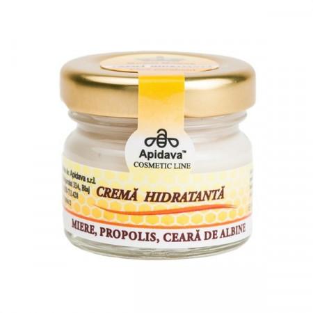 Crema naturala hidratanta ten cu miere si propolis - Apidava