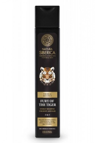 Poze Sampon si gel de dus pentru barbati Fury of the Tiger, 250 ml - Natura Siberica
