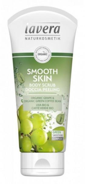 Scrub de corp Smooth Skin cu extract de cafea verde, 200ml - LAVERA