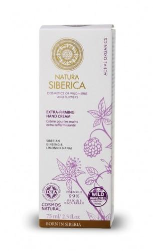 Crema maini extra fermitate cu schisandra si ginseng siberian, 75 ml - Natura Siberica