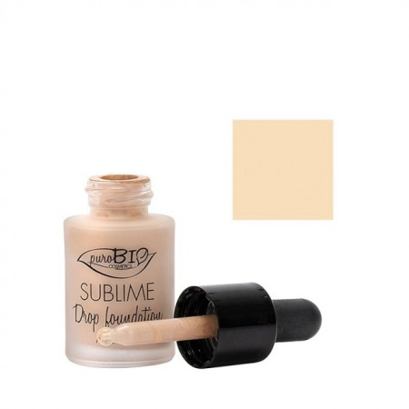 Fond de ten Sublime Drop Foundation 01 - PuroBio