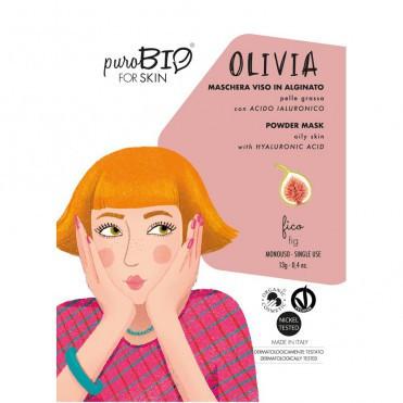 Masca peel-off ten gras OLIVIA smochine, 13gr - PuroBio