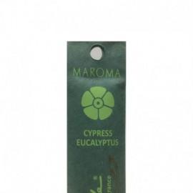 Betisoare parfumate din lemn de bambus Cypress & Eucalyptus - Maroma