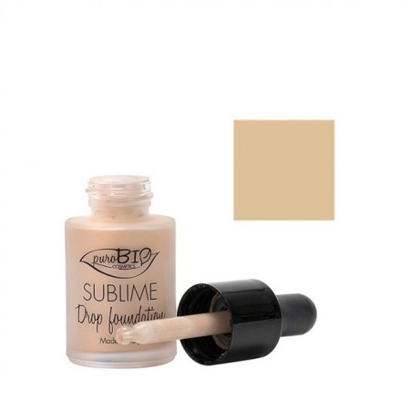 Poze Fond de ten Sublime Drop Foundation 02 - PuroBio