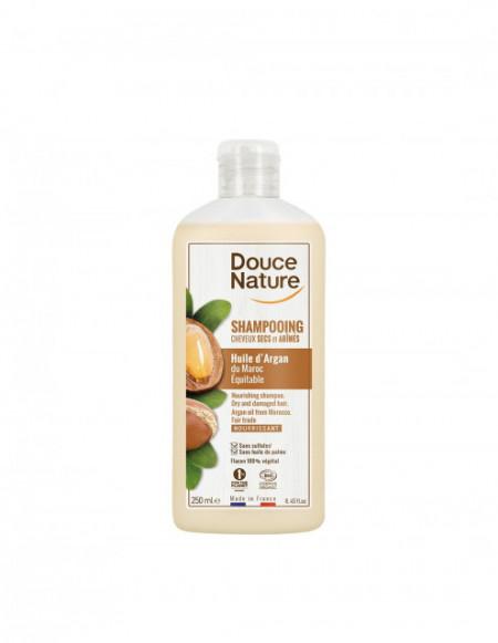 Sampon crema cu ulei de argan 250ml- Douce Nature