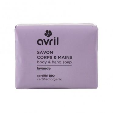 Sapun bio cu aroma de lavanda Avril