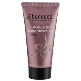 Poze benecos Natural Light Fluid Foundation Mocca