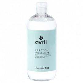 Lotiune micelara bio cu apa de albastrele - Avril