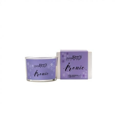 Lumanare parfumata bio Ironic 03 - PuroBio Home