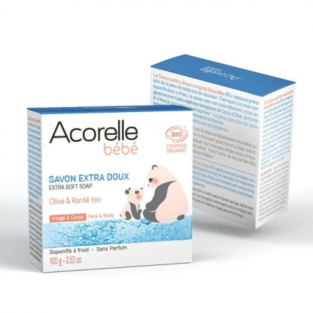 Sapun ultra delicat pentru bebelusi 100g - Acorelle