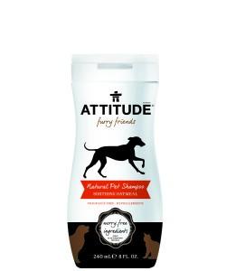Șampon natural cu extract de fulgi de ovăz pentru animalul tău de casă – pentru o blană moale, 240ml
