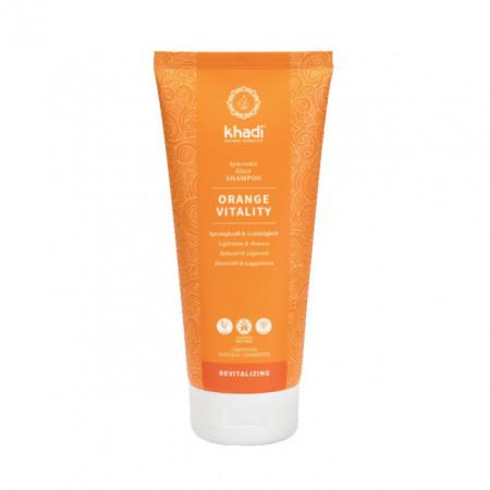 Sampon ayurvedic revitalizant Orange Vitality, 200ml - Khadi