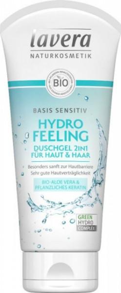 Sampon & gel de dus Hydro Feeling cu aloe vera si cheratina, Basis Sensitiv